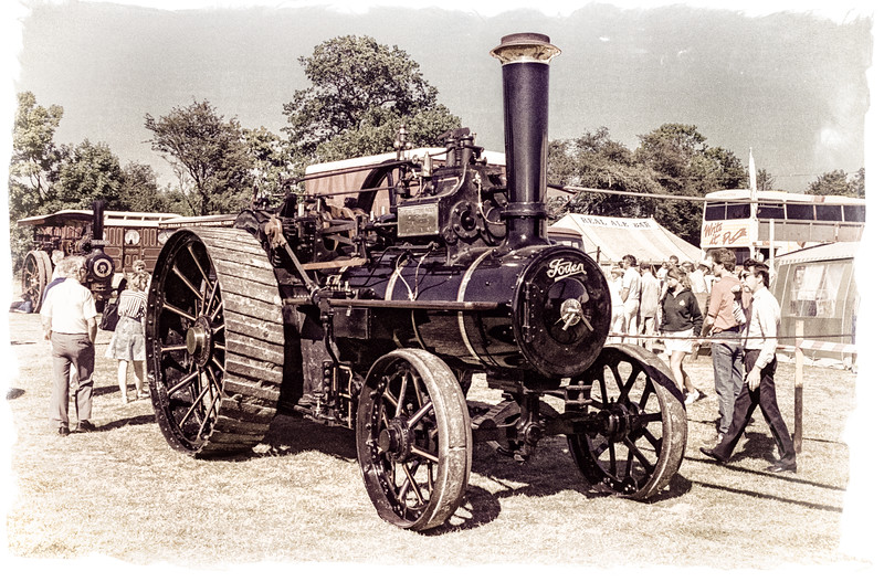 Foden Traction Engine, Kent County Show, Detling, Maidstone England