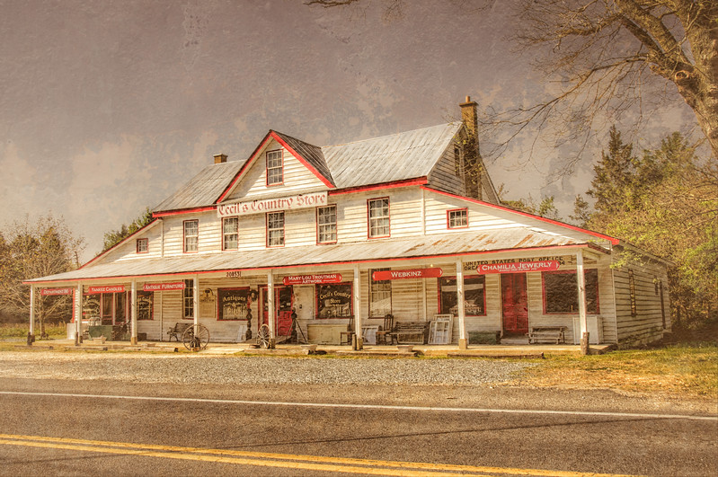 Cecil's Country Store, Indian Bridge Road, Great Mills, St. Mary's County, Maryland