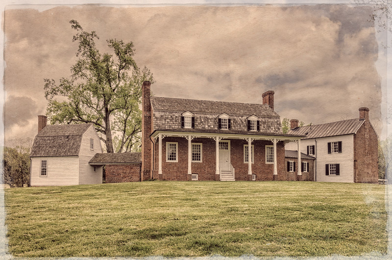 Haberdeventure, the country home of Thomas Stone, 6655 Rose Hill Road, Port Tobacco, Maryland
