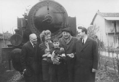 March 14, 1964, Alpignano. Visit by Miguel Angel Asturias.