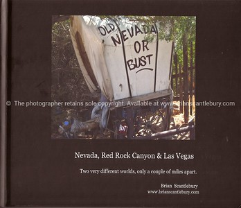 Nevada, Red Rock Canyon & Las Vegas. A great collection of 50+ images. Available in hard cover, with dust jacket or soft cover versions. The Dust Jacket version has a little more info and images. A wonderful gift, or your personal record,of the wonderful American state. Review book; http://www.blurb.com/bookstore/detail/893011