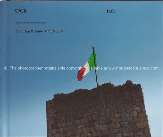 """Italy, SPQR, A great collection of 120+ typically Italian images. Available in hard cover, with dust jacket or soft cover versions. The Dust Jacket version has a little more info and images. A wonderful gift, or your personal record,of the wonderful country.<br /> Review book;<br />  <a href=""""http://www.blurb.com/bookstore/detail/2322683"""">http://www.blurb.com/bookstore/detail/2322683</a>"""