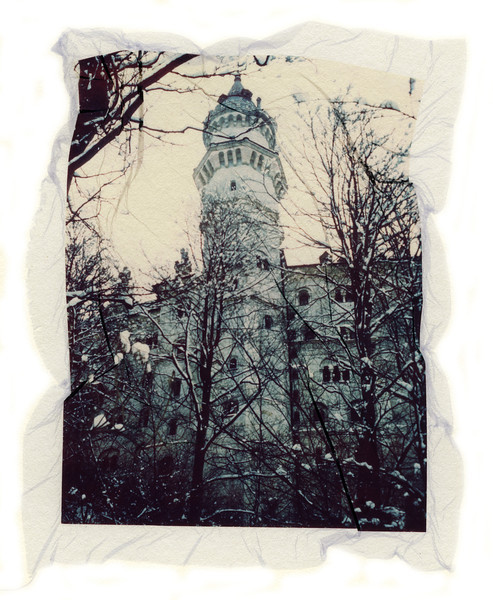 Castle in the Snow, 2001<br /> Photographic Emulsion Transfer