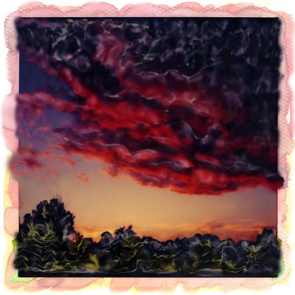 Storm Clouds, 1999<br /> Polaroid Manipulation