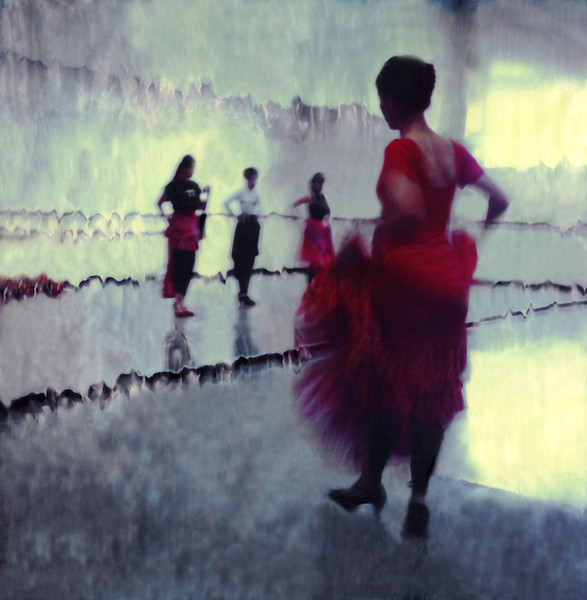 Red Dress, 2000<br /> Polaroid Manipulation