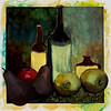 Still Life, 1996<br /> Polaroid Manipulation