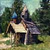 Cemetery Alaska, 2000<br /> Polaroid Manipulation