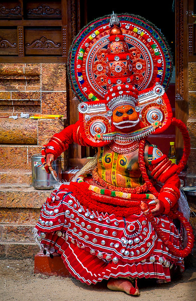Theyyam<br /> when men become Gods<br /> Kannur, Kerala 2015