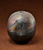 Raku pottery by Bob Arnold. Shot in a plastic tent for softer light and with reflectors in front to show glaze in darker areas.
