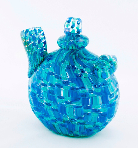 Glass teapot by Katrina Hude, March 2012