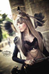 Model: Gina Xanadu Fashion & Accesoires: Gina Xanadu https://www.facebook.com/ginaartworks?fref=ts
