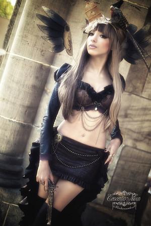 Model: Gina Xanadu Fashion & Accessoires: Gina Xanadu https://www.facebook.com/ginaartworks?fref=ts