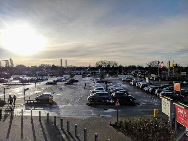 Boxing day at Ikea