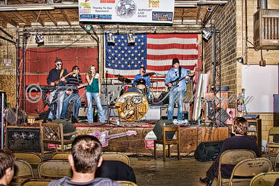 Playing at Armadillo Hall in Taylor TX. SXSW