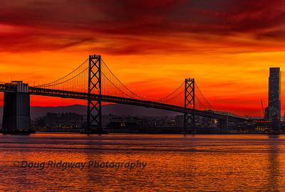 Bay Bridge Sunset
