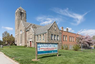 Sixth Presbyterian Church, 5413 16th FOREGROUND DOES NOT MAKE SENSE - MAYBE JUST A BILLBOARD