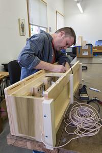 Robbie Lawson Wiring a Windchest