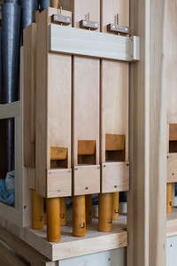 Old Pipes Rescued and Renovated for this Organ