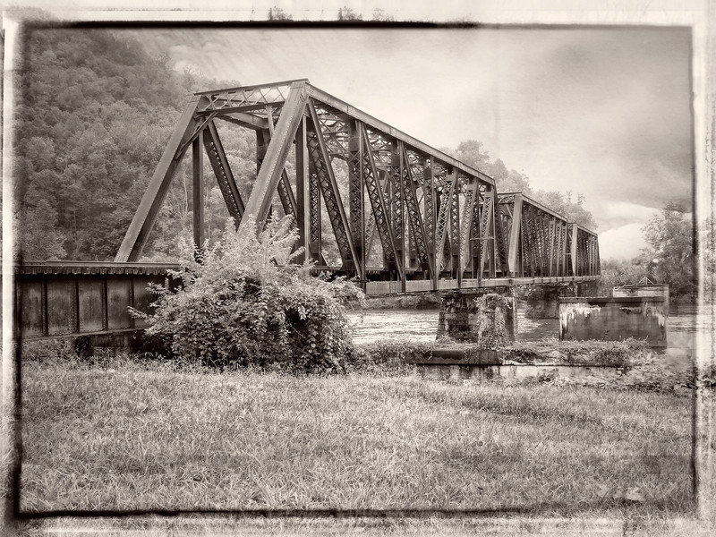 Iron Bridge at Gauley Bridge-405e