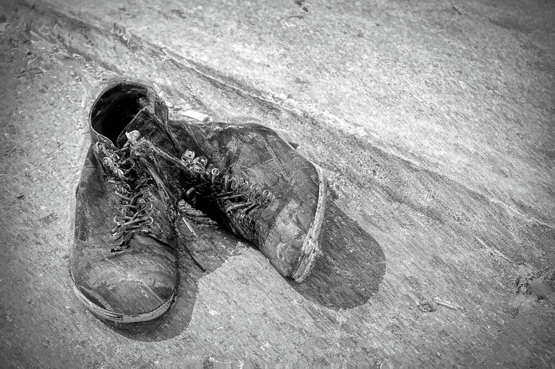 Oil LXV: OLD SHOES