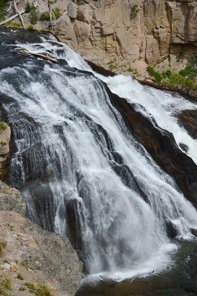 Gibbon Falls, Yellowstone, WY-1229
