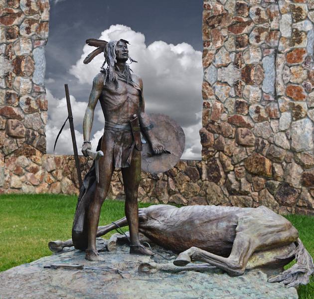 Sculpture, Crazy Horse Monument, SD-765