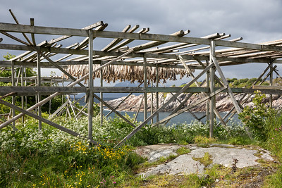 Cod Drying Racks
