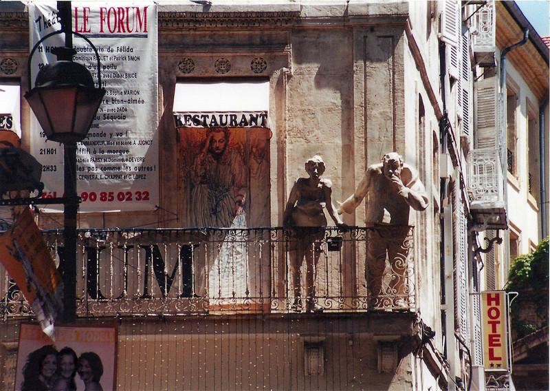 Avignon Balcony