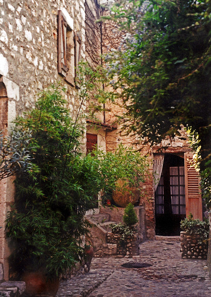 Courtyard, St. Paul de Vence