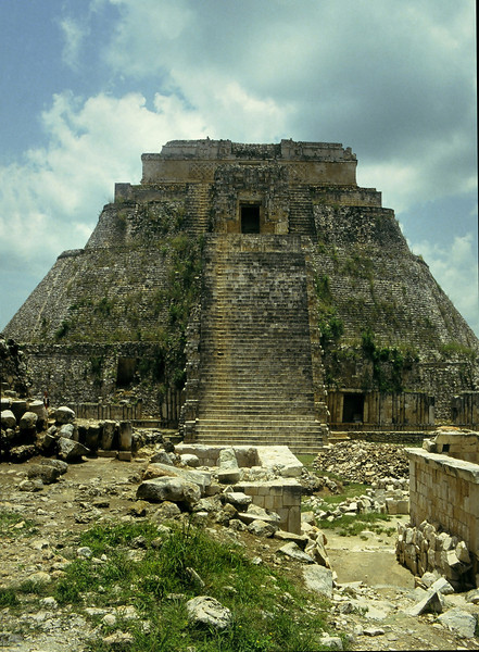 Pyramid of the Magician 3, Uxmal