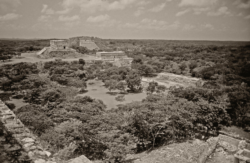 Temples at Uxmal