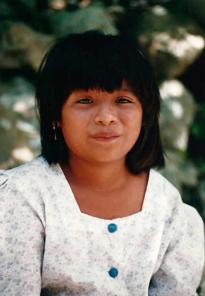 Young Girl, Old Chichen Itza