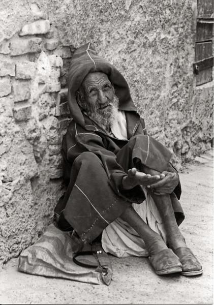 Beggar, Fez