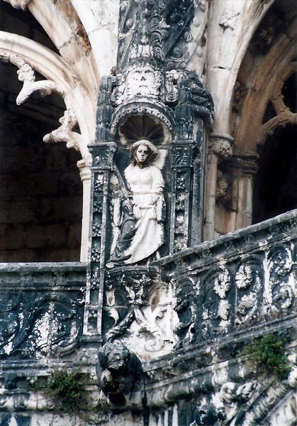 Courtyard, St. Gerome Monastery, Lisbon