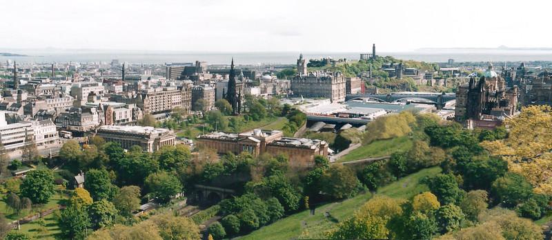 Edinburgh, Panorama