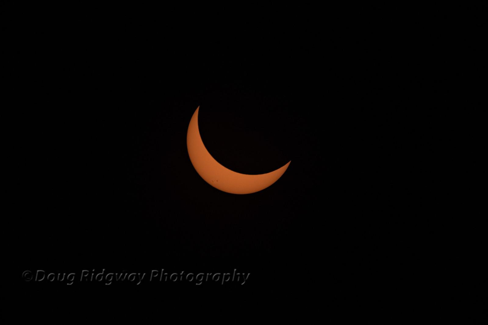 3/4 Eclipse