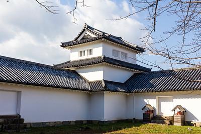 Nishi-no-maru, Nishinomaru yagura, tower, and gate defense