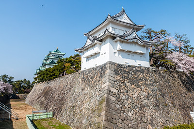 The Hitshi-san yagura, turret which guarded the dry moat and the omote-ninomon entrance gate into the Honmaru.