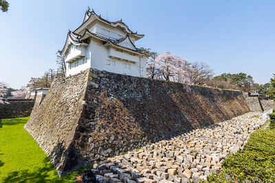 The Tatsumi yagura, turret which guarded the dry moat and the omote-ninomon entrance gate into the Honmaru.