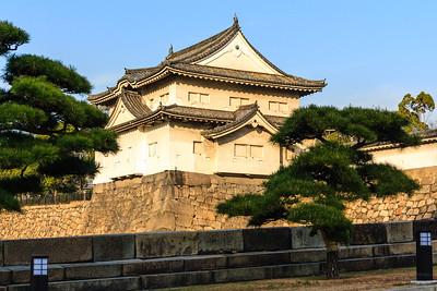 The Sengan yagura, turret, built to defend the Sakiramon gate.