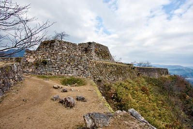 Foundations for the main keep.