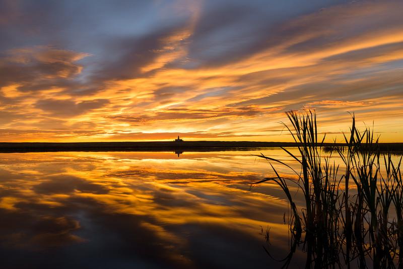 Sunrise on the Prairie