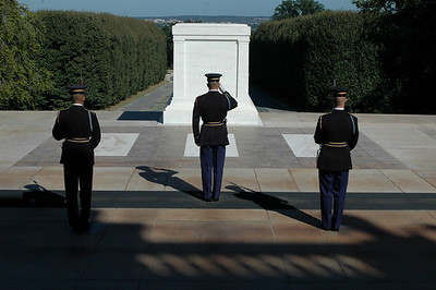 One of Americas most important traditions, the Changing of the Guards, Tomb of the Unknown Soldier