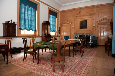 A rare look into the Governors office, second floor, Independance Hall