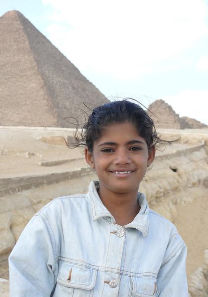 Egyptian Girl, Giza