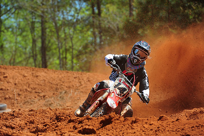 Ricky Winters, amateur days, Devils Ridge MX track