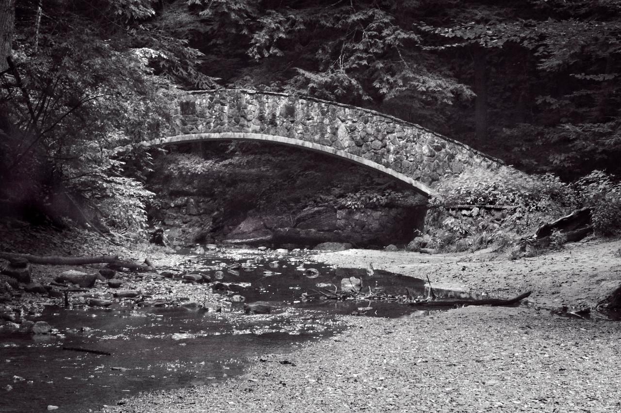 Hocking Hills-701bw, Old Man's Cave