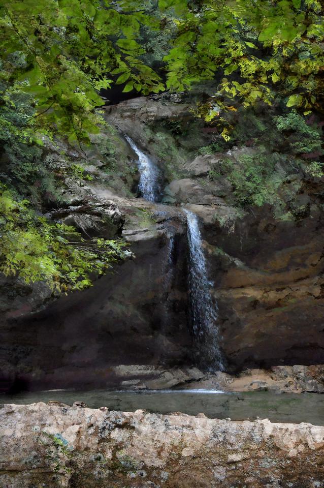 Hocking Hills, Old Man's Cave-Oil Impressions LI