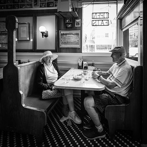 First started going to old Tastee Diner in Bethesda in 1955