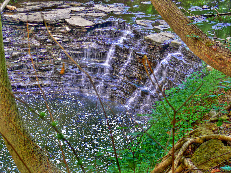 Waterfall, Sharon Woods